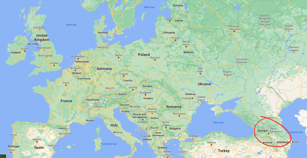 Tbilisi location